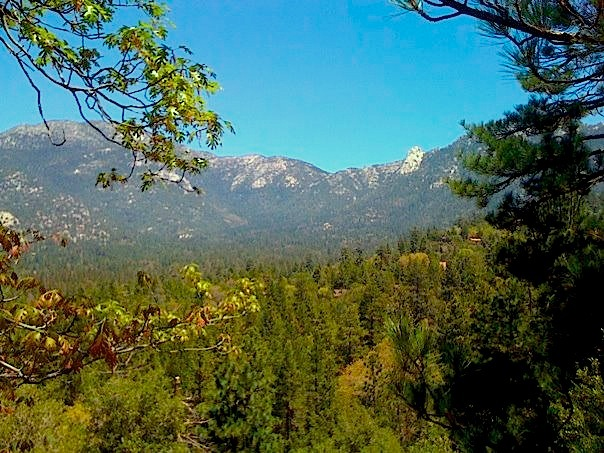 Tahquitz Peak View from Linger Lane
