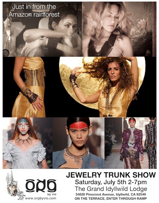 Trunk Show at the Grand Idyllwild Lodge