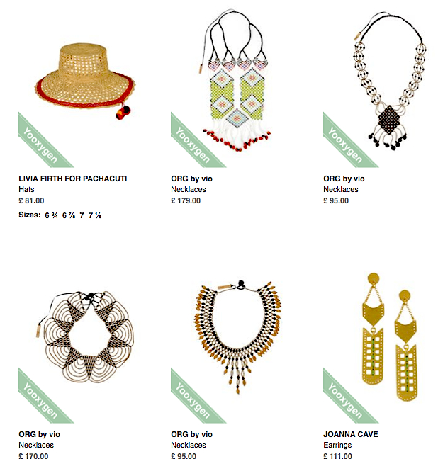 Livia Firth's selection of ORG by vio for YOOX.com